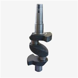 Piston refrigeration compressor crankshaft