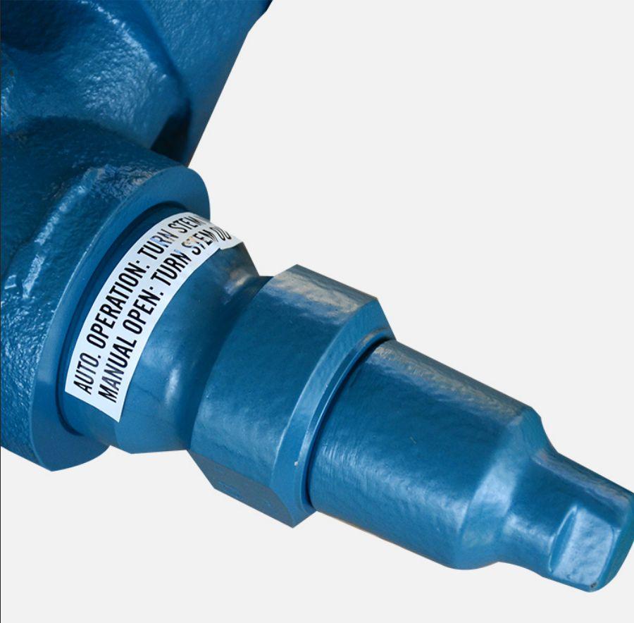 válvula de regulação da pressão de óleo hidráulico