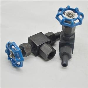 직쇄 또는 각도 압력계 밸브