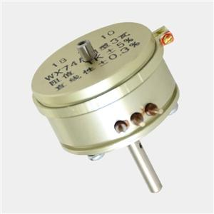 Screw refrigeration compressor potentiometer