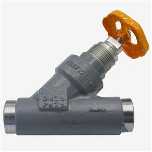 조절 밸브를 통해 직선 용접
