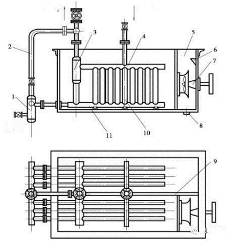Spiral tube evaporator