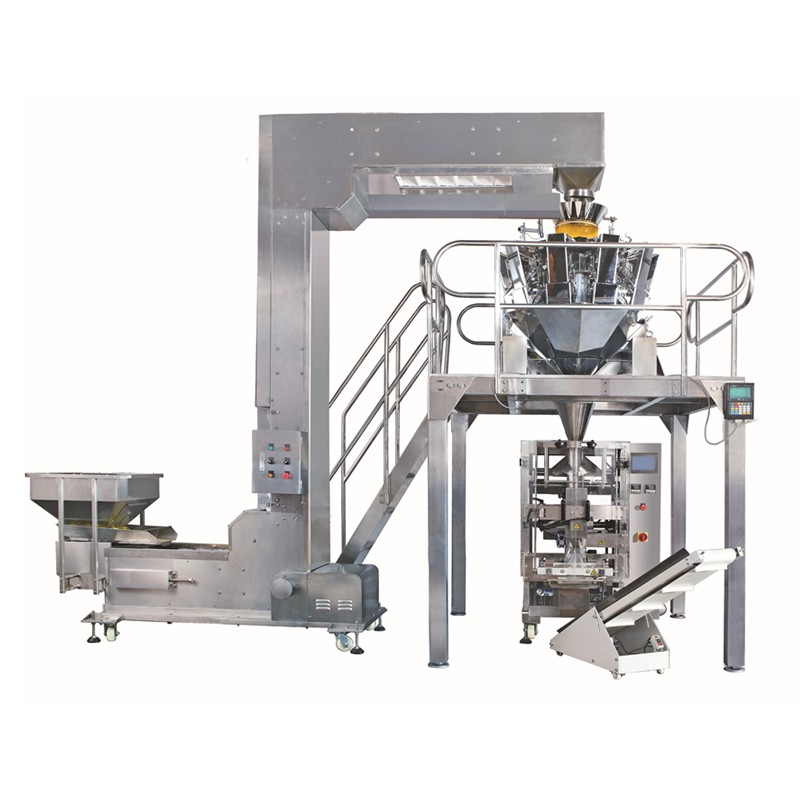 Automatic Weighing And Packing Machine For Potato Chips