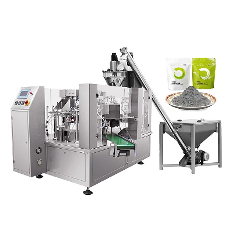 Standing Bag Cocoa Powder Packaging Machine