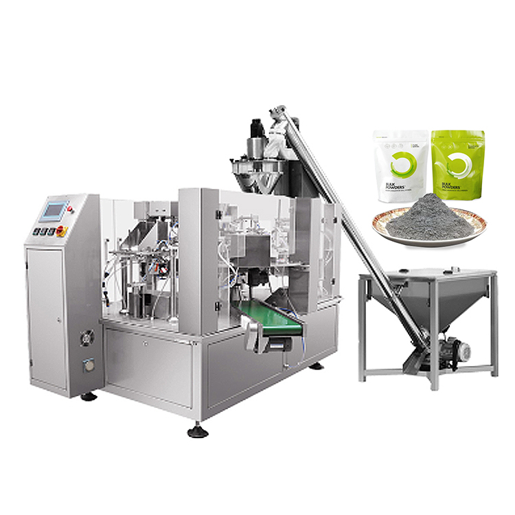 Cocoa powder packaging machine