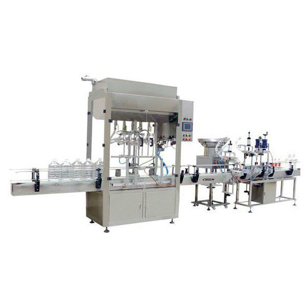 Small Oil Filling Machine For Glass Or Plastic Bottle