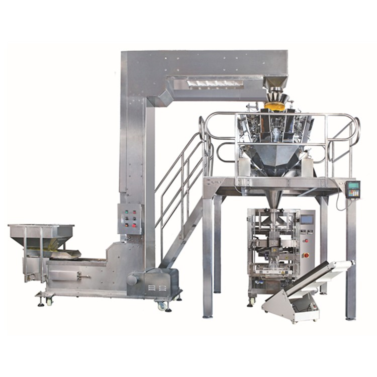 Dry Food Dry Fruit Packing Machine For Pouch