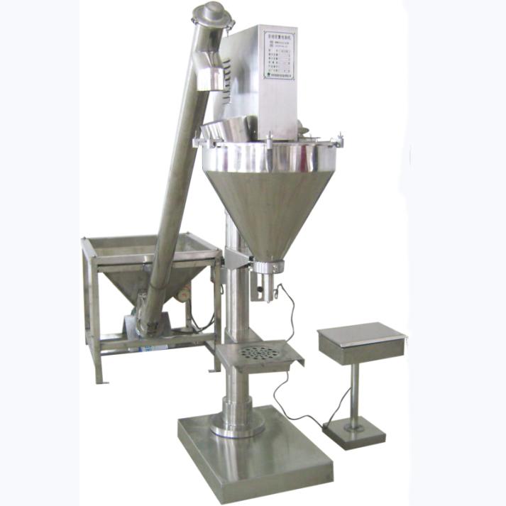 Pesticide Powder Semi-Auto Filling Machine With Screw