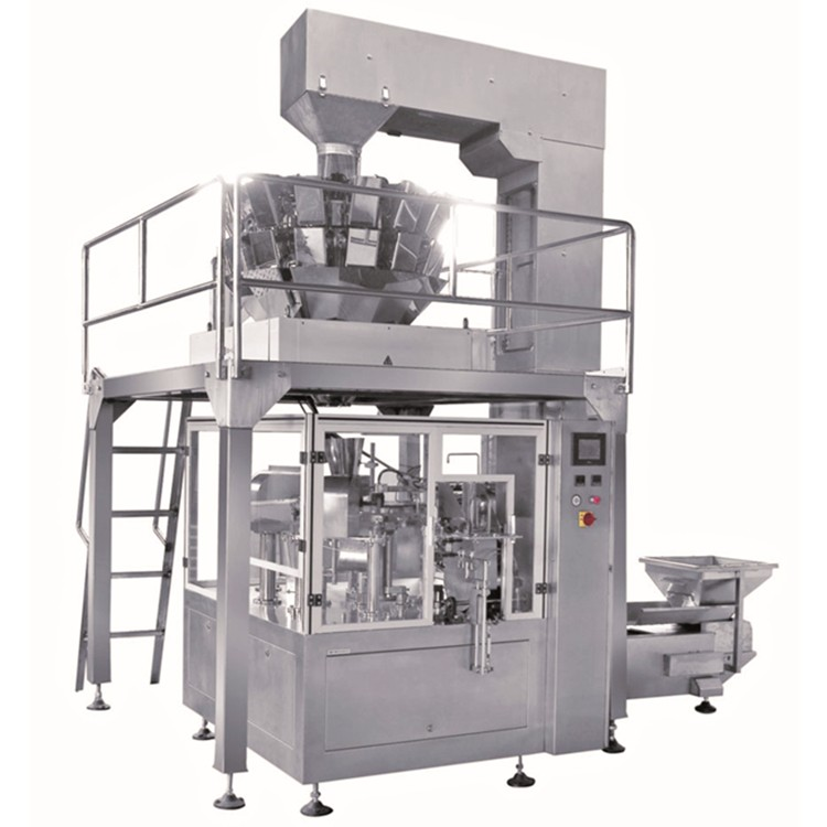 Automatic Stand Pouch Popcom Packing Machine
