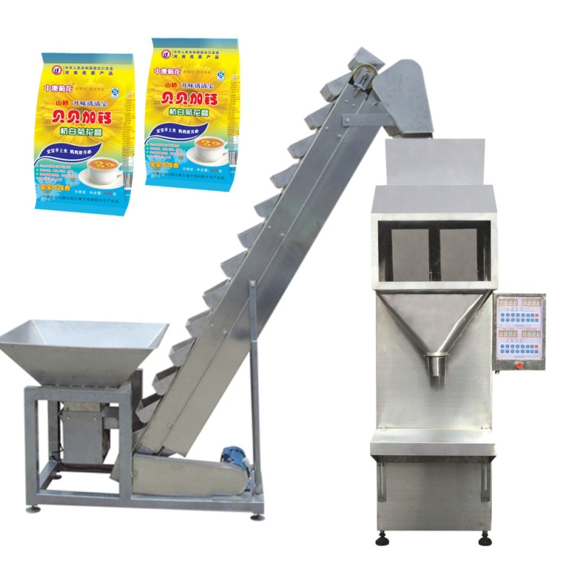 Semi-auto Granules Packing Machine For Bag