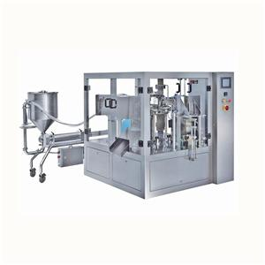 Rotary Doypack Packing Machine For Liquid