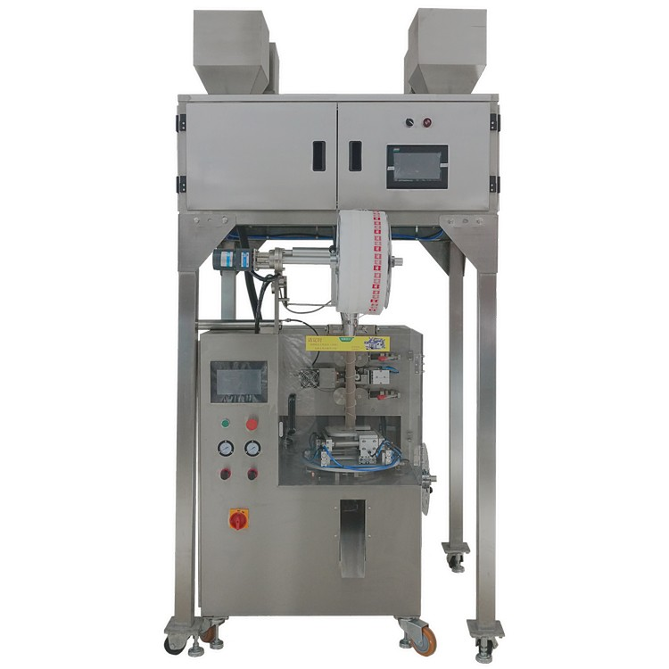 Nylon Pyramided And Triangle Tea Bag Packing Machine