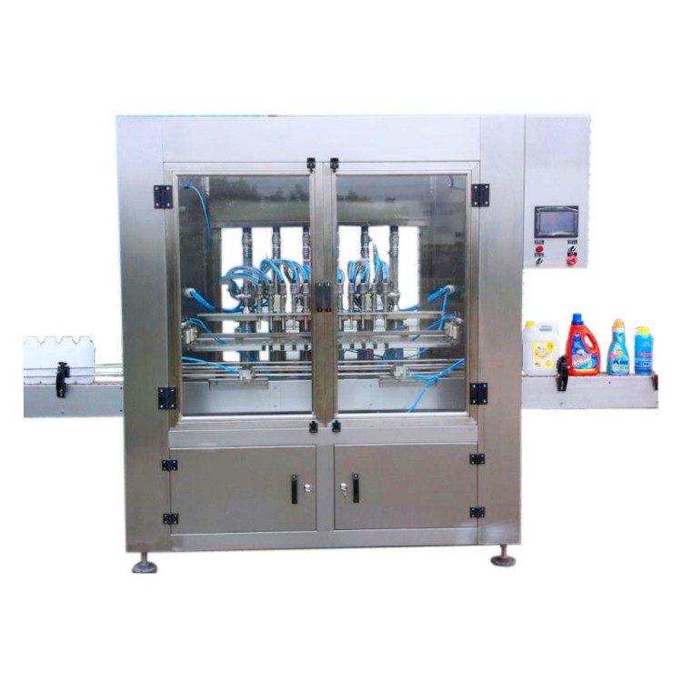 Automatic Liquid Detergent Filling Line For Clean Factory