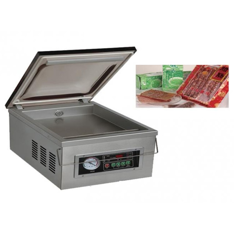 Small Semi-automatic Vacuum Packing Machine On Table