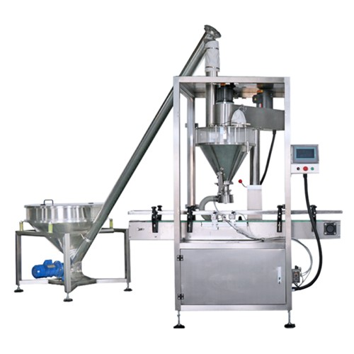 Automatic Milk Powder Filling Machine With Caping