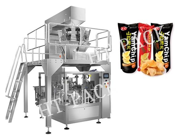 آلة تغليف المواد الغذائية