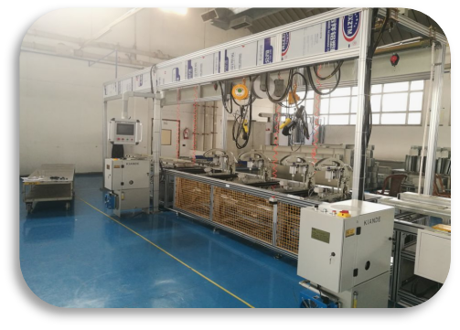 Busbar Assembly Line