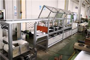 Машина для обработки шин трансформаторов