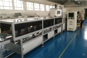 compact busbar high-voltage test machine