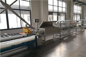 Filem poliester Roll To Roll Slitting Busbar Machine