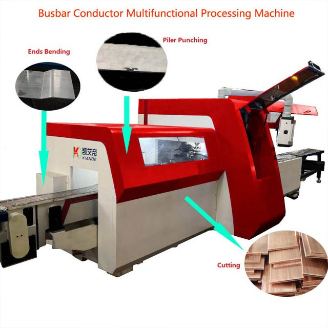 Multifunctional Busbar Processing Machine