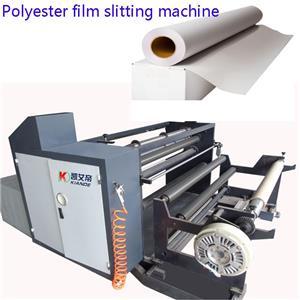 Ang makina ng Polyester Film Slitting para sa pambalot ng busbar insolation