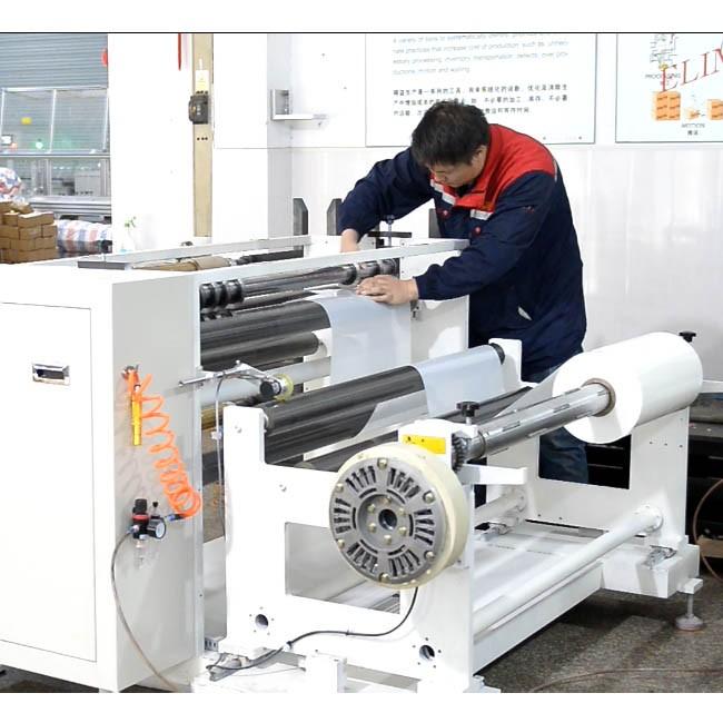 폴리 에스테르 필름 자동 절단 부스 바 기계