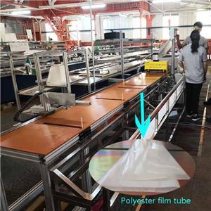 Mesin Bending Film Mylar Digital Otomatis untuk Film Poliester Bentuk