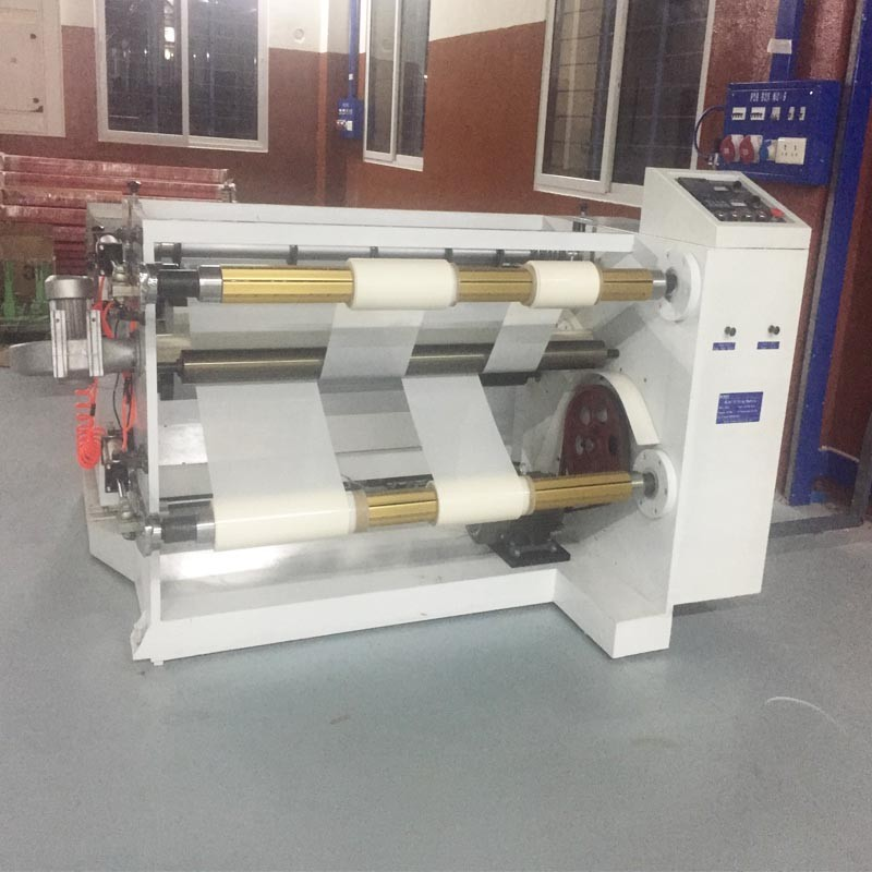 Poliester Gauze Film Horizontal Slitting Busbar Machine