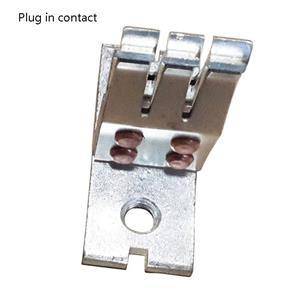 Медные штыри с внутренней резьбой для разъема шинопровода в контактной коробке