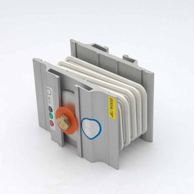 800A 3p Busway Joint Connection Bar na may Zinc-plated Surface