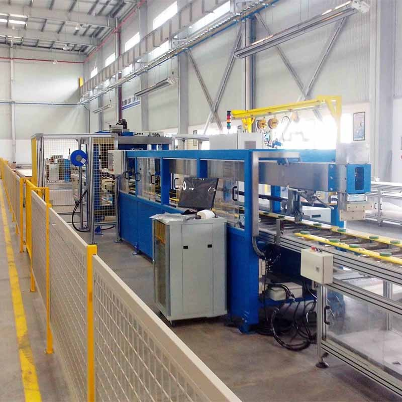 LV Busbar Trunking System 생산을위한 자동 Busduct 조립 라인