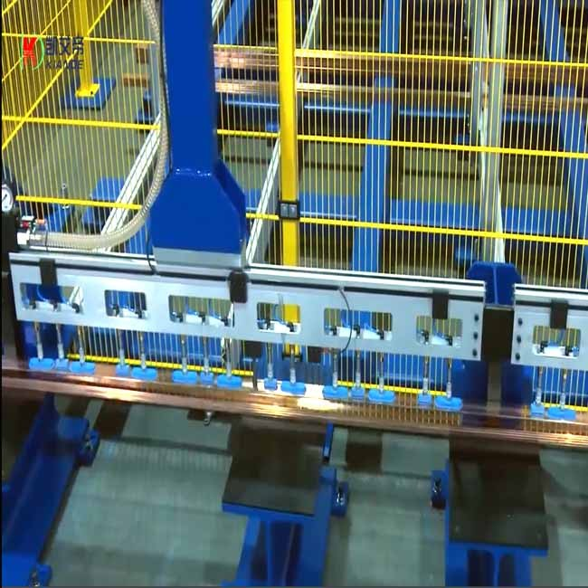 Automatic Storage System of Bus Bar Raw Material for Factory
