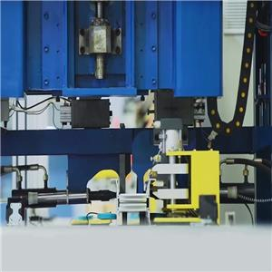 machine for compact busbar profile riveting