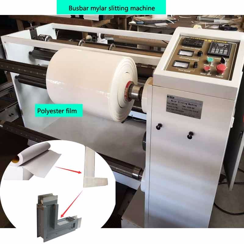 Mesin Barbar Slitting Film Poliester