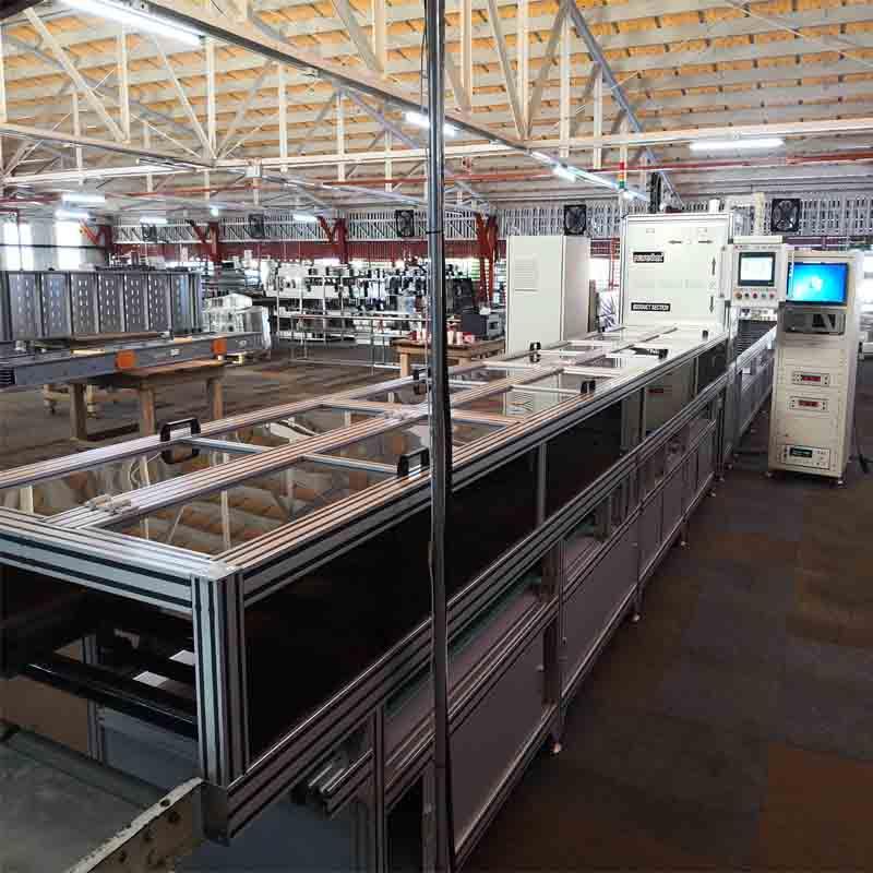 compact busbar high-voltage test machine