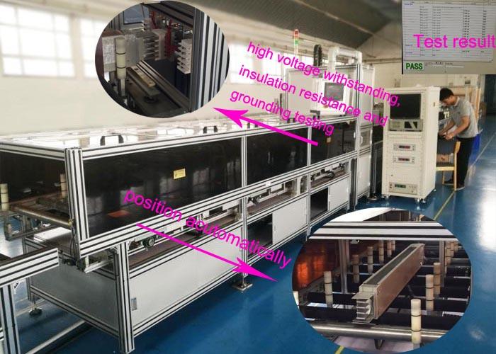 busbar inspection machine