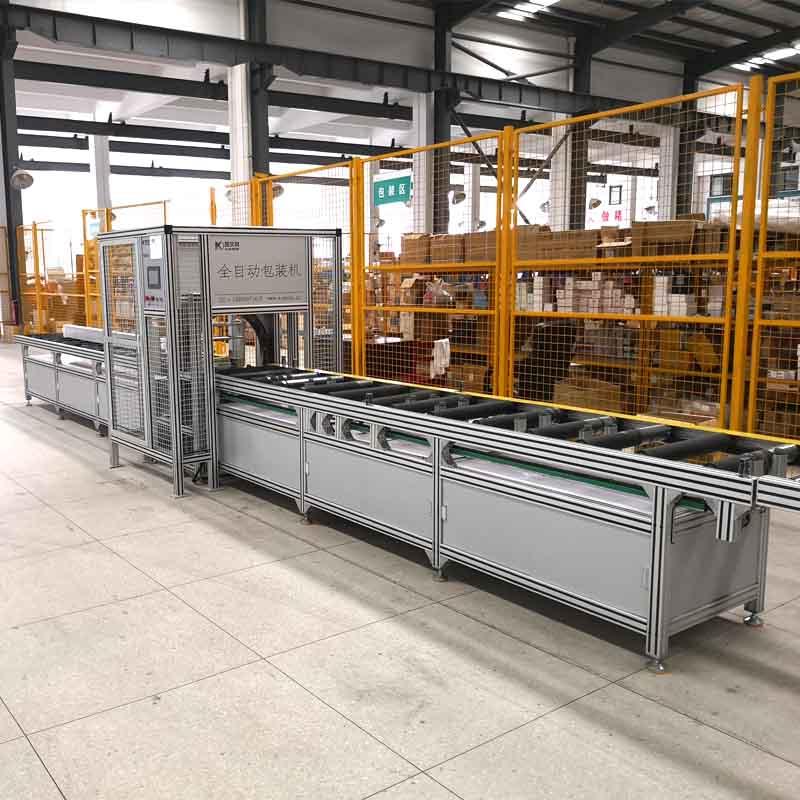 PLC Control Busbar Automatic Packing Machine untuk busduct padat