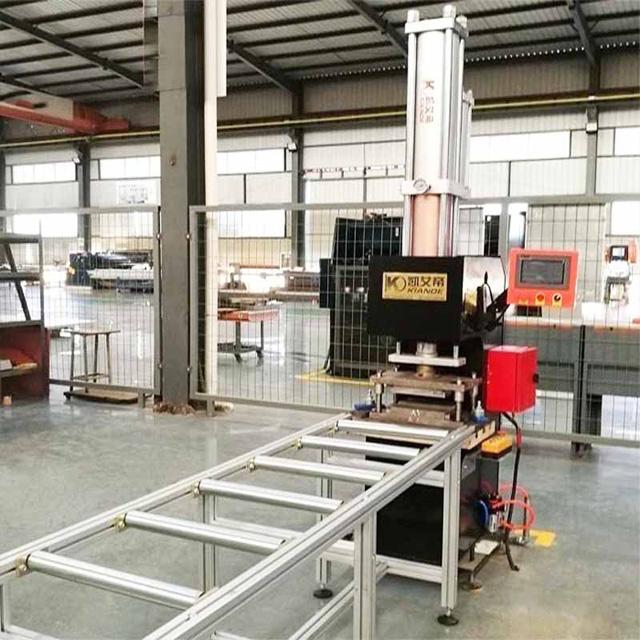 Copper Bar Hydraulic Machine