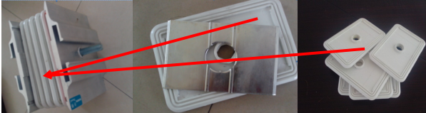 Duct Joint Insulation Spacer
