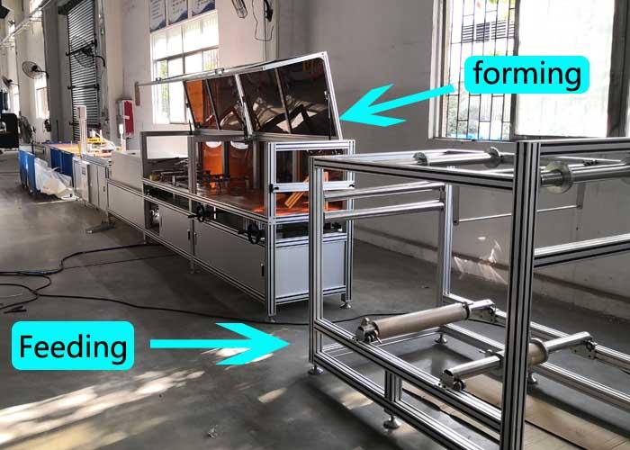 Digital mylar film Bending machine