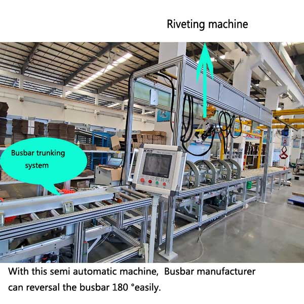 Busbar assembly Machine