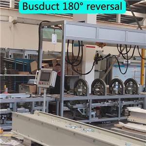 busway assembly machine for busway encloser clamp and riveting