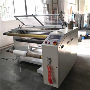 Polyester Film Slitting machine for busbar insolation wrapping