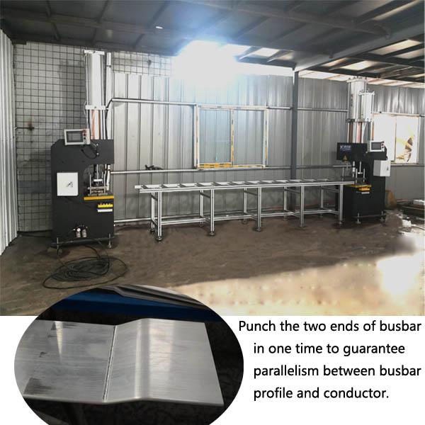 busbar punching machine for busbar ends punching