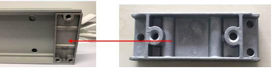 Aluminum Block Casting