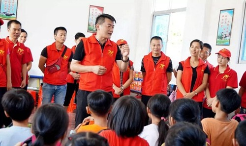 Public activities-Jiyang welfare home