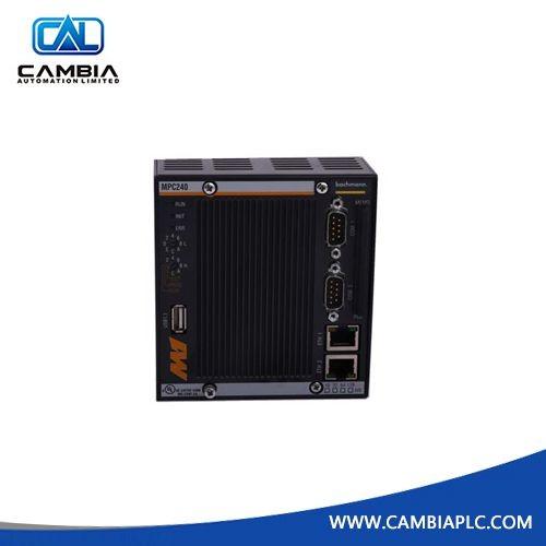 Bachmann MPC240 MPC270 Processor Module