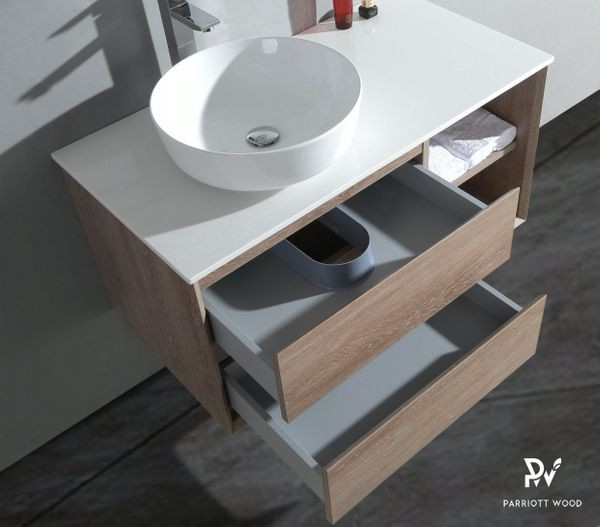 Woodbridge Collection-TG191-100 PVC Melamine Vanity Cabinet Bathroom Cabinet Manufacturers, Woodbridge Collection-TG191-100 PVC Melamine Vanity Cabinet Bathroom Cabinet Factory, Supply Woodbridge Collection-TG191-100 PVC Melamine Vanity Cabinet Bathroom Cabinet
