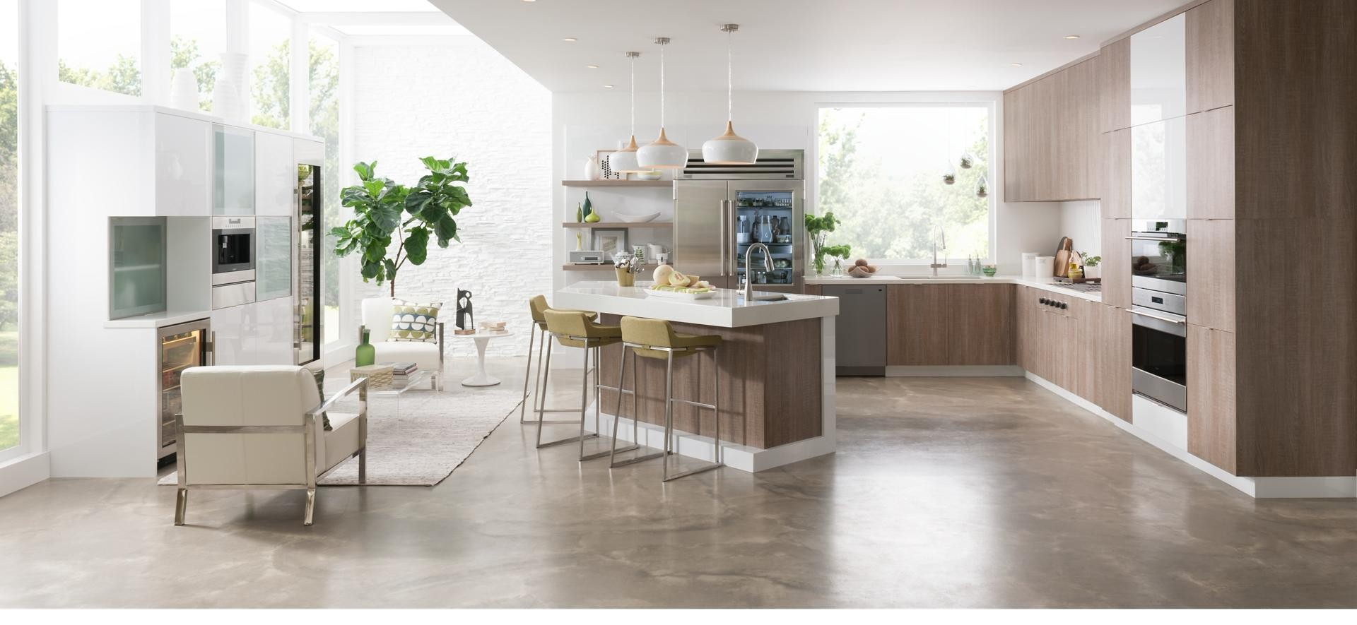 China Best Quality Laminate Melamine Kitchen Cabinet Price
